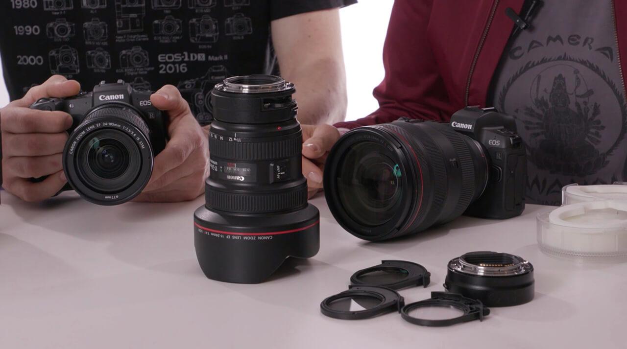 Canon Objektiv-Simulator