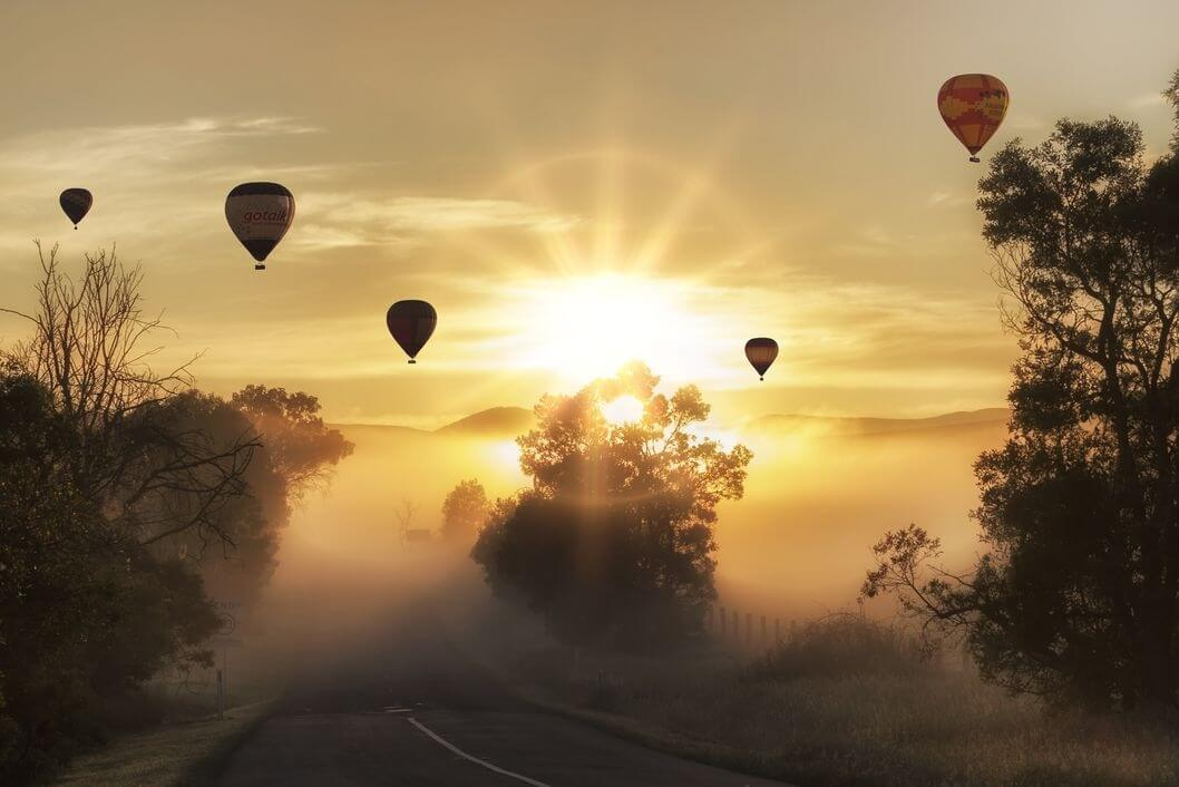 Heißluftballons - Canon Academy Grundlagen