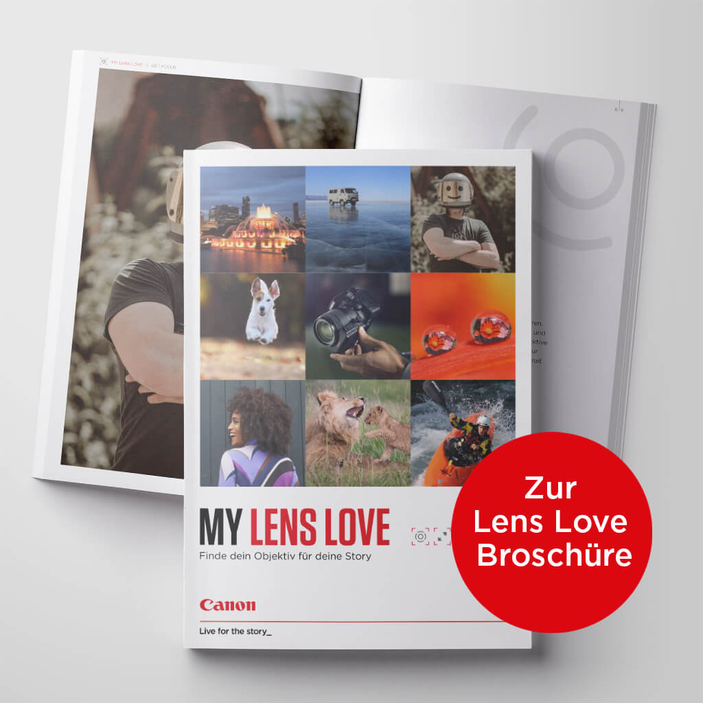 Canon Academy my Lens Love - Finde dein Objektiv für deine Story