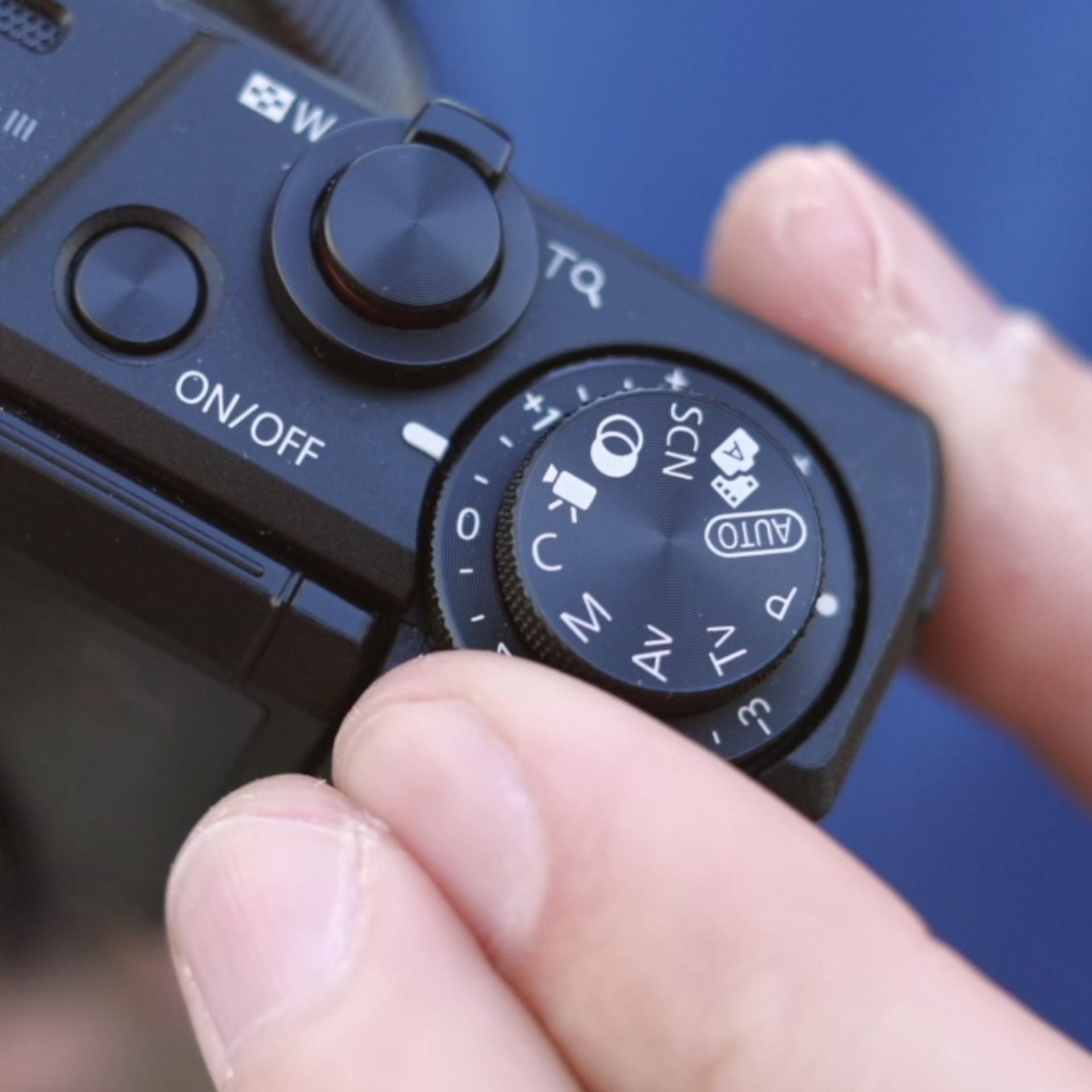PowerShot G7 X Mark III, Aufnahmeprogramm Video, Vlogging