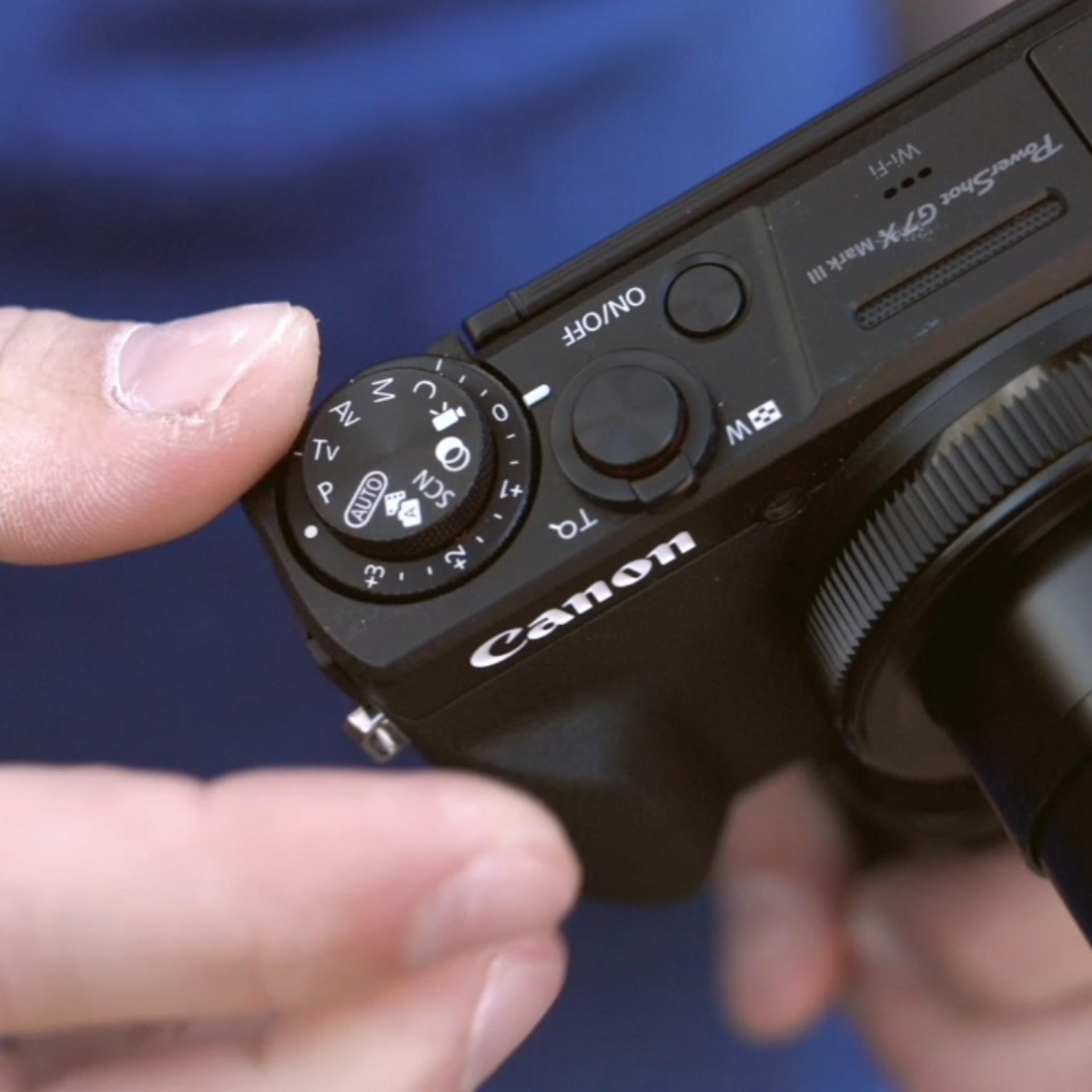 PowerShot G7 X Mark III, Vloggen, Belichtungskorrektur