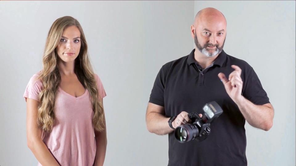 Porträtfotografie mit Canon Speedlite 470EX-AI