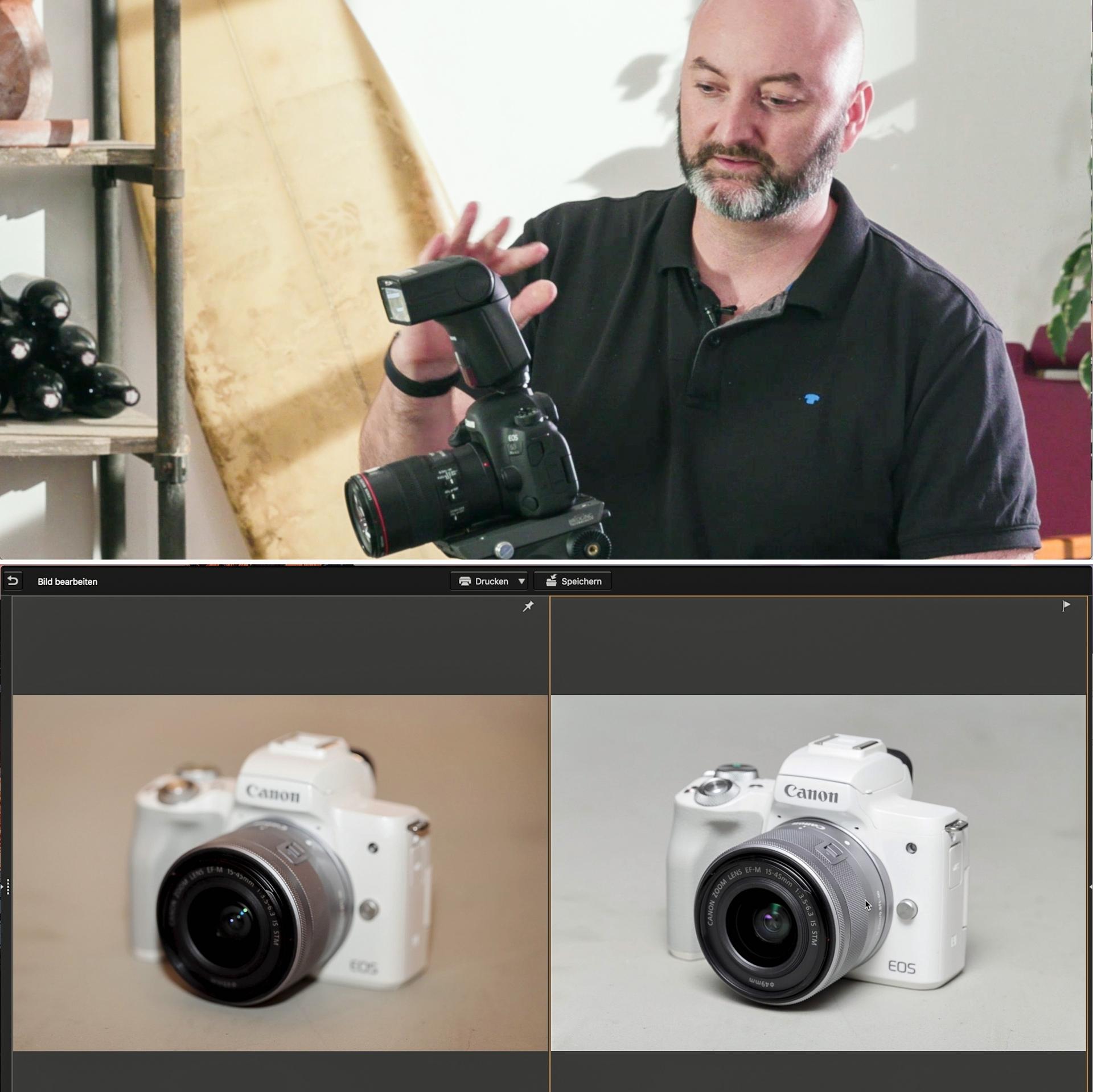 Produktfotos mit dem Speedlite 470EX-AI
