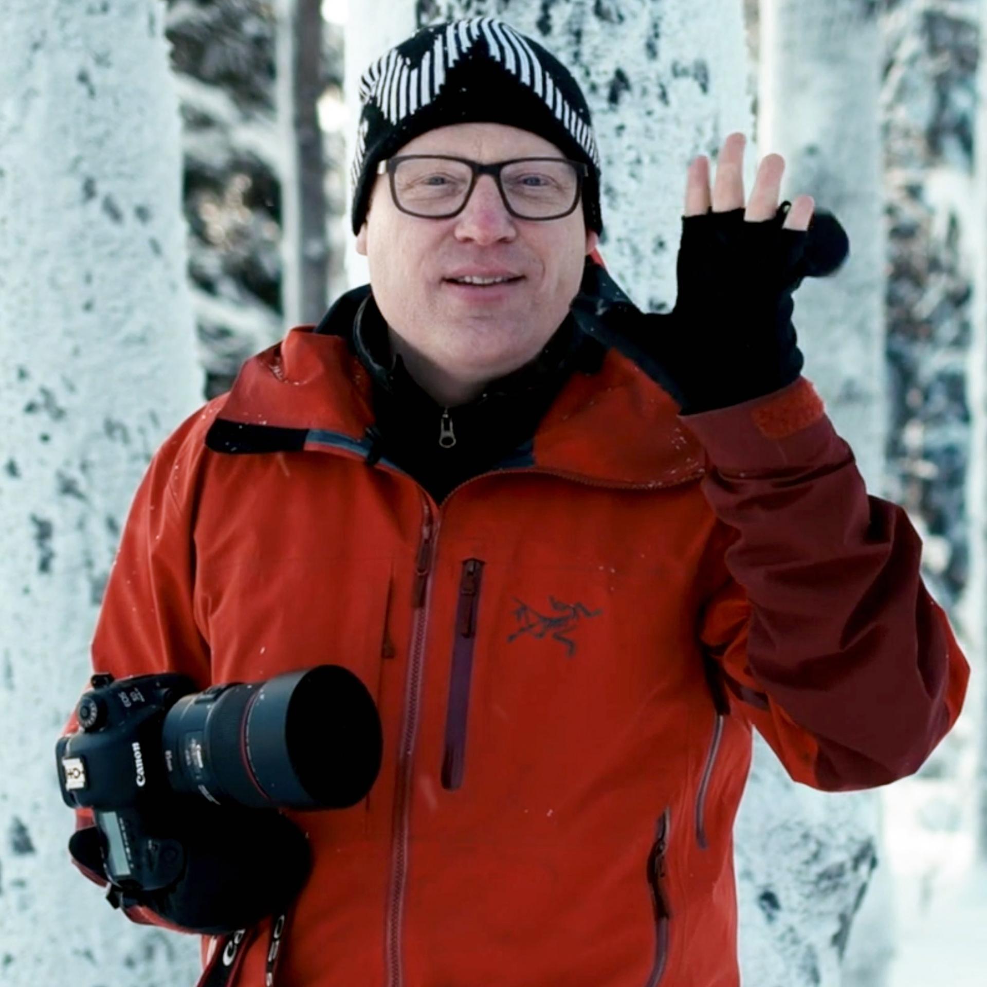 Richard Walch, Handschuhe zum Fotografieren, Fotografieren im Winter