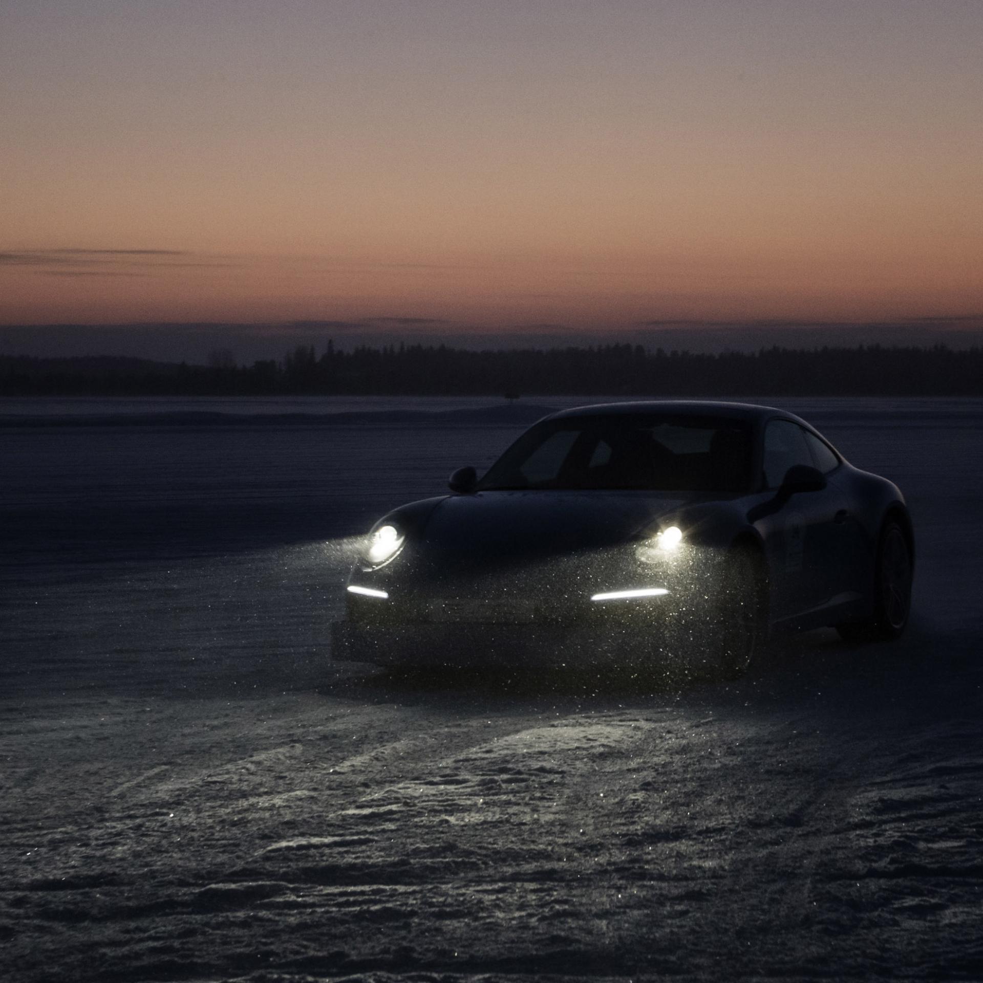 Low Light, Fotografie, Winter, Porsche