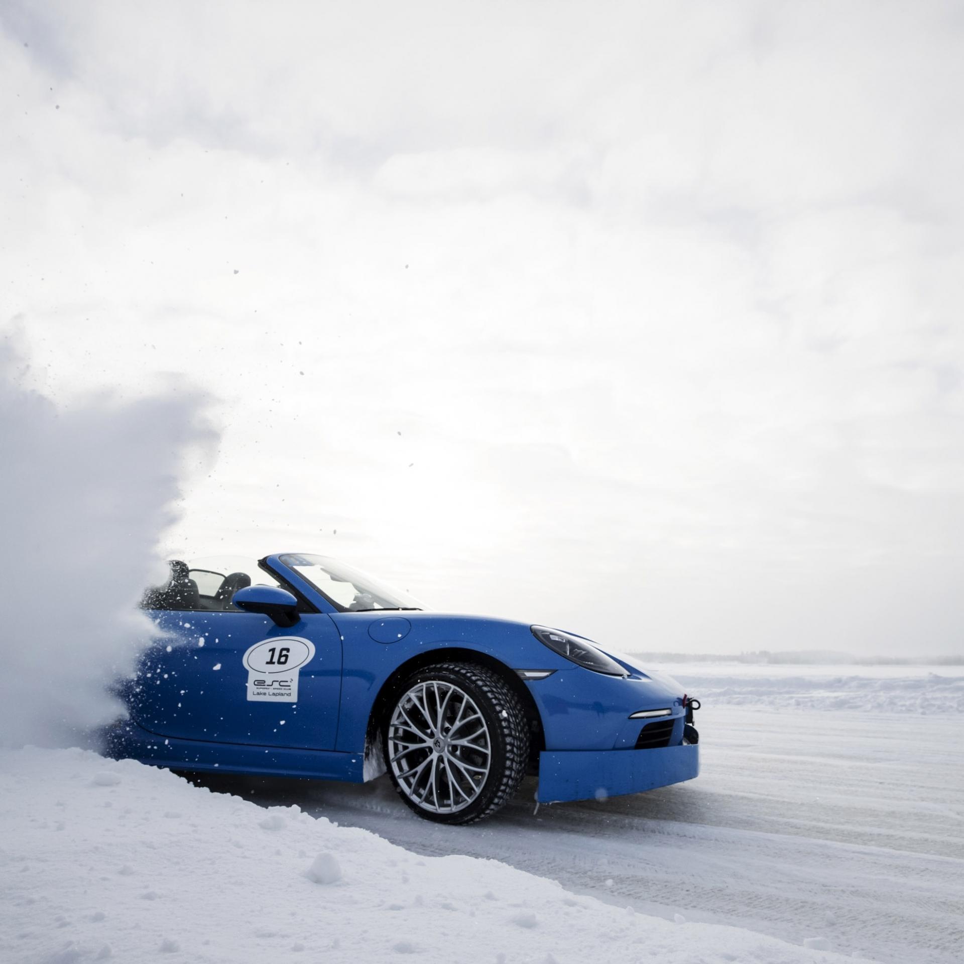 Winter, Action, Foto, Schnee, Porsche