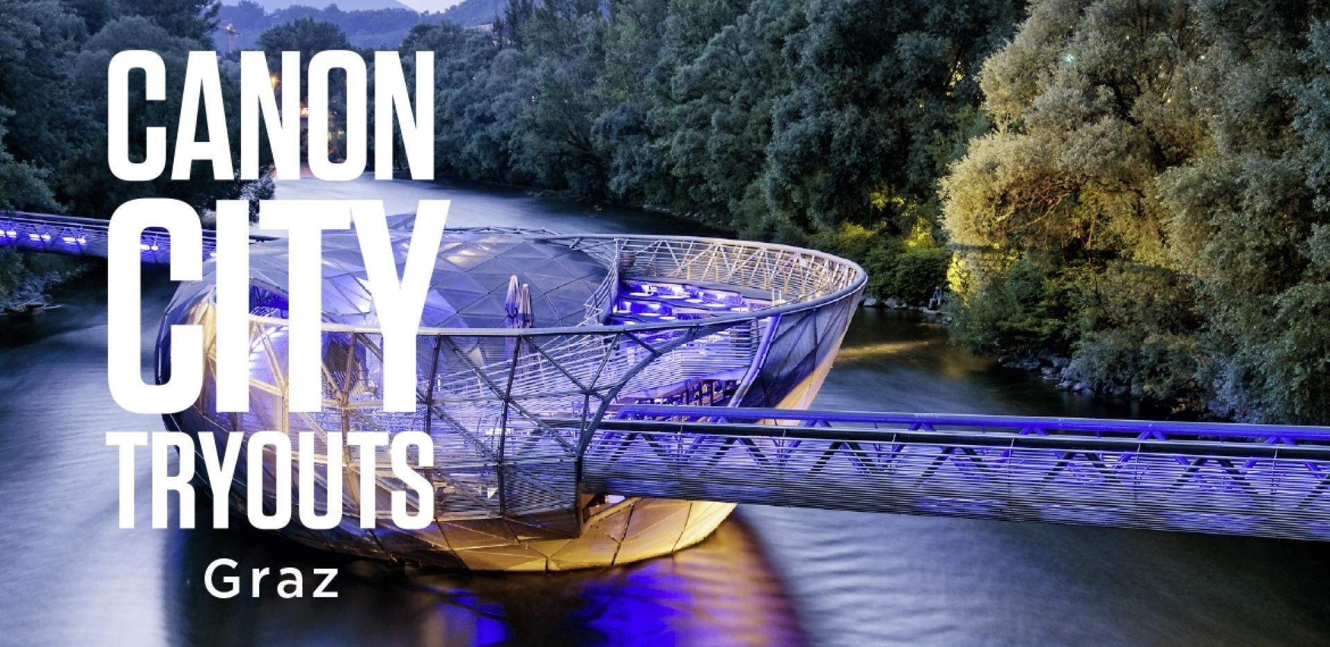 Canon City Tryouts in Graz - Canon Academy Spezialthemen