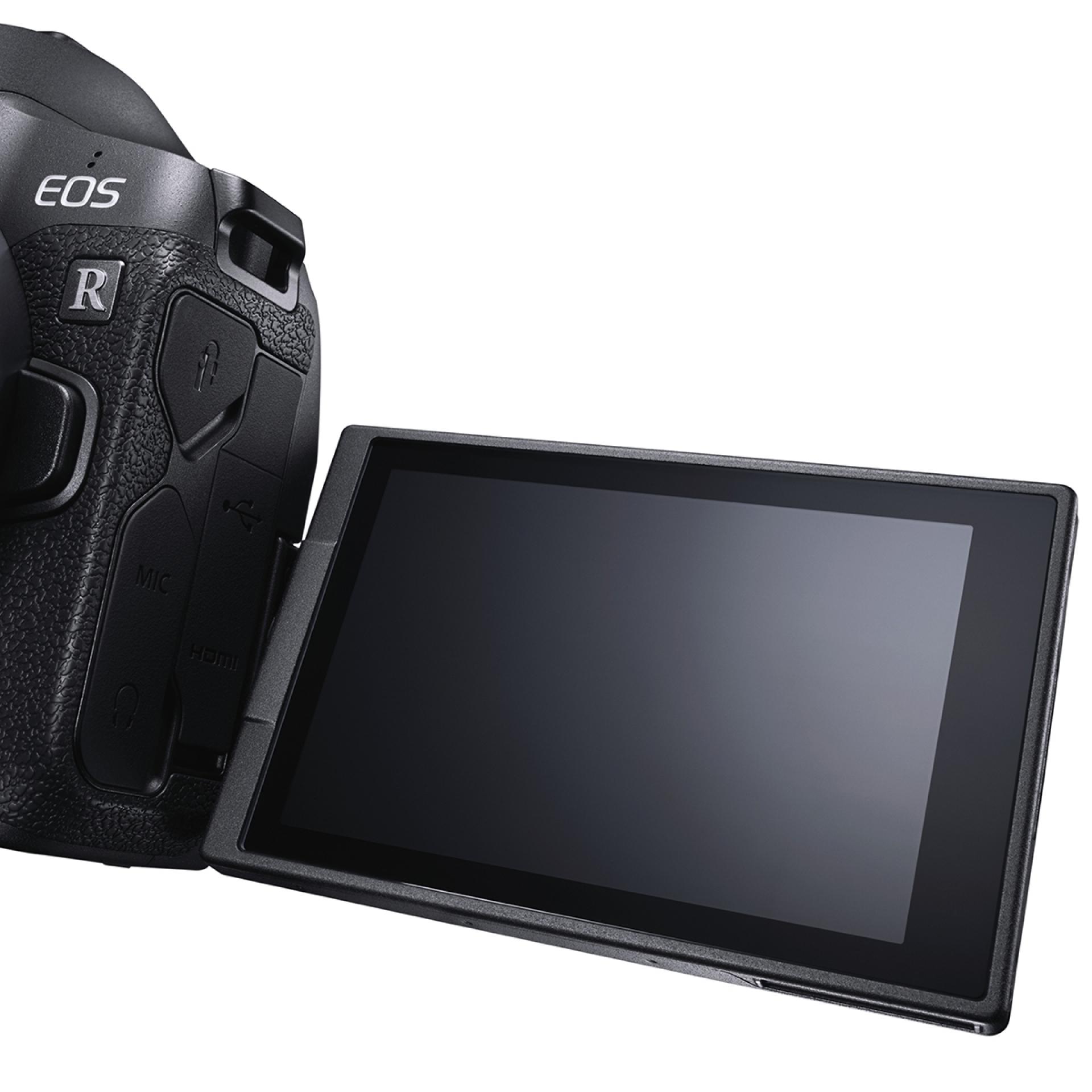 EOS R, Dreh- und schwenkbares Display