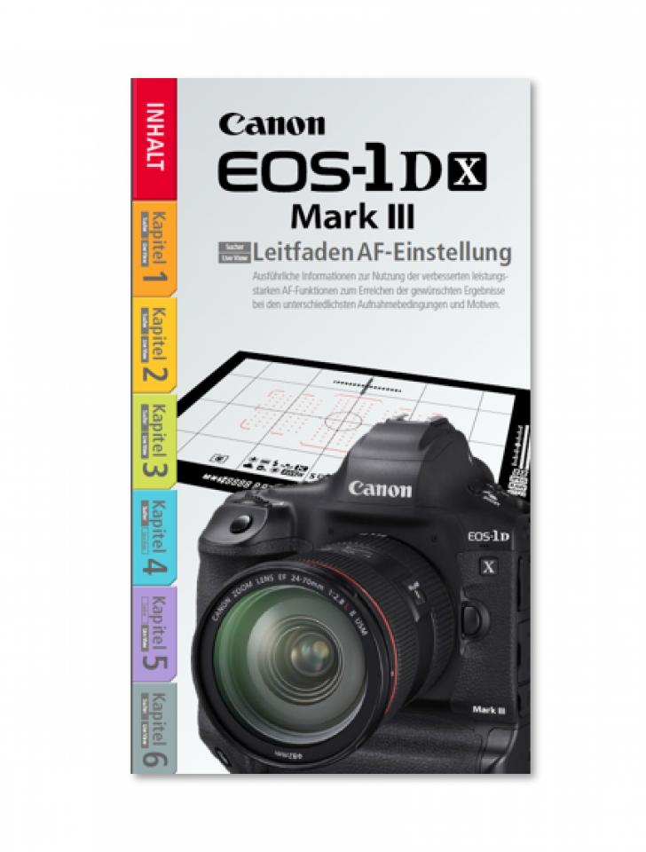 EOS-1D X Mark III Autofokus Leitfaden