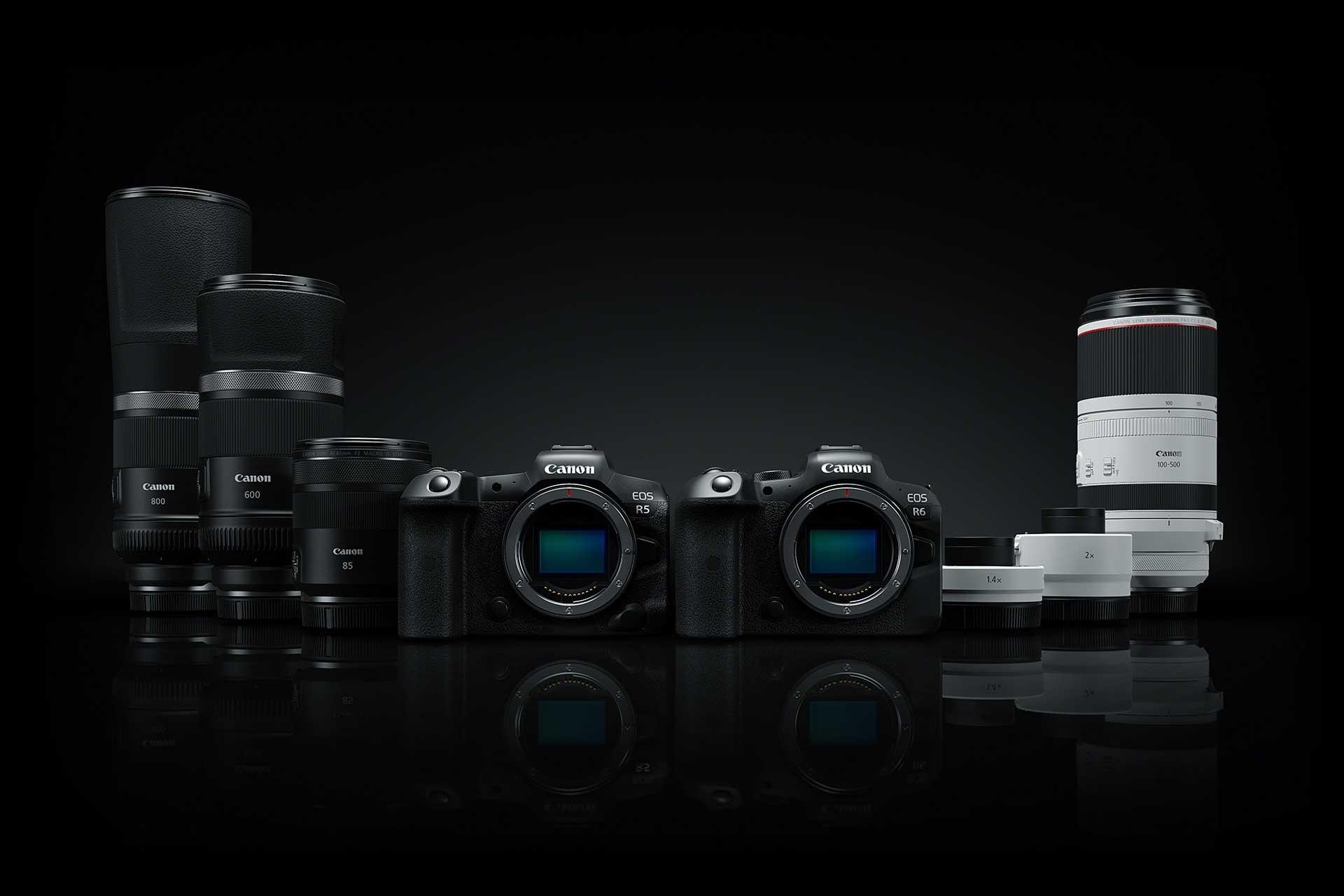 EOS R-System, RF Objektive, Teleobjektiv, Portraitobjektiv