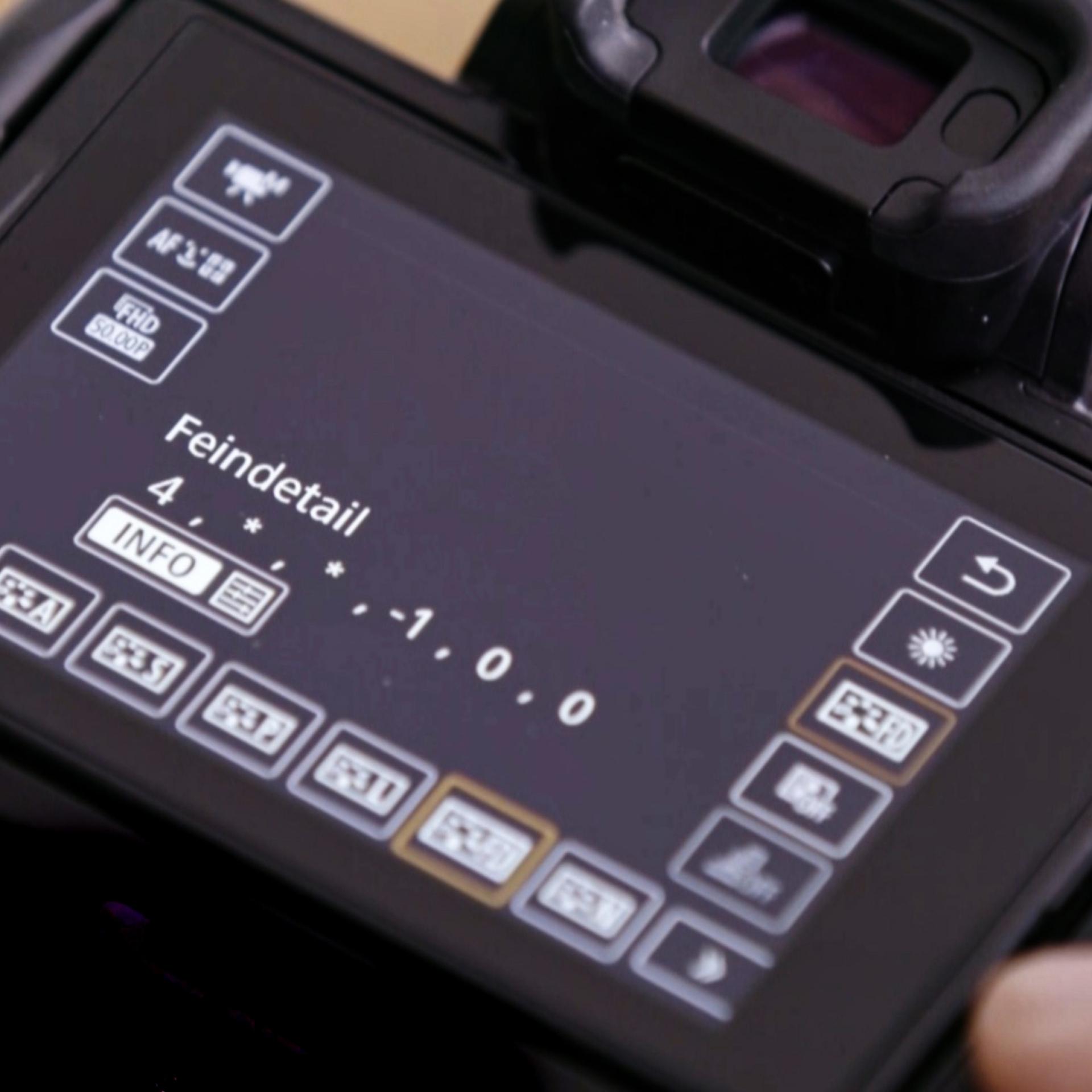 Canon, Filmen mit der EOS, Full-HD-Auflösung, Bildstil