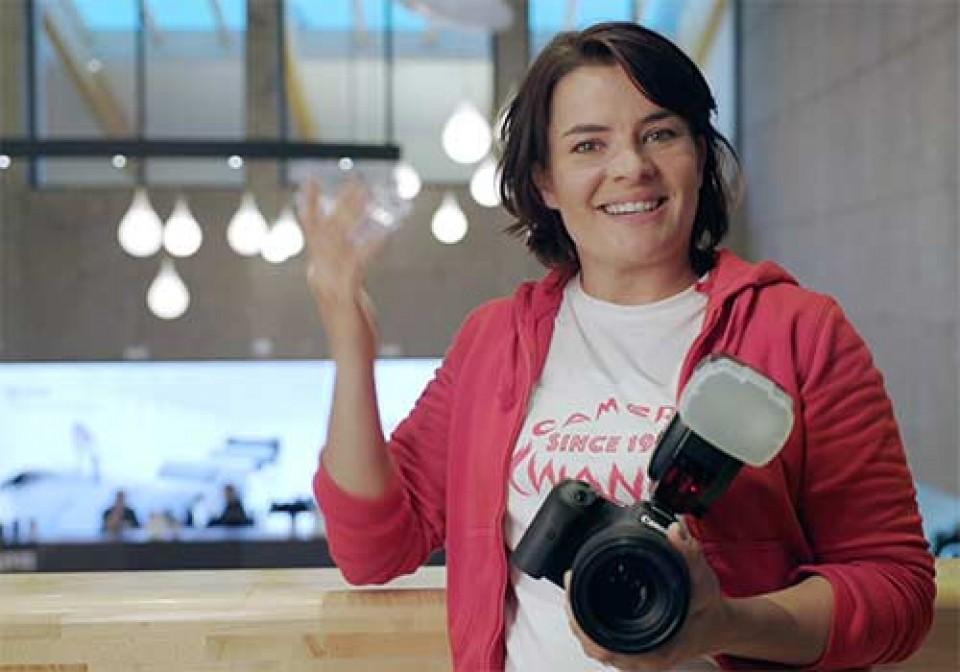 Blitzen mit spiegellosen Canon Kameras, E-TTL Blitzen, Petra Selbertinger