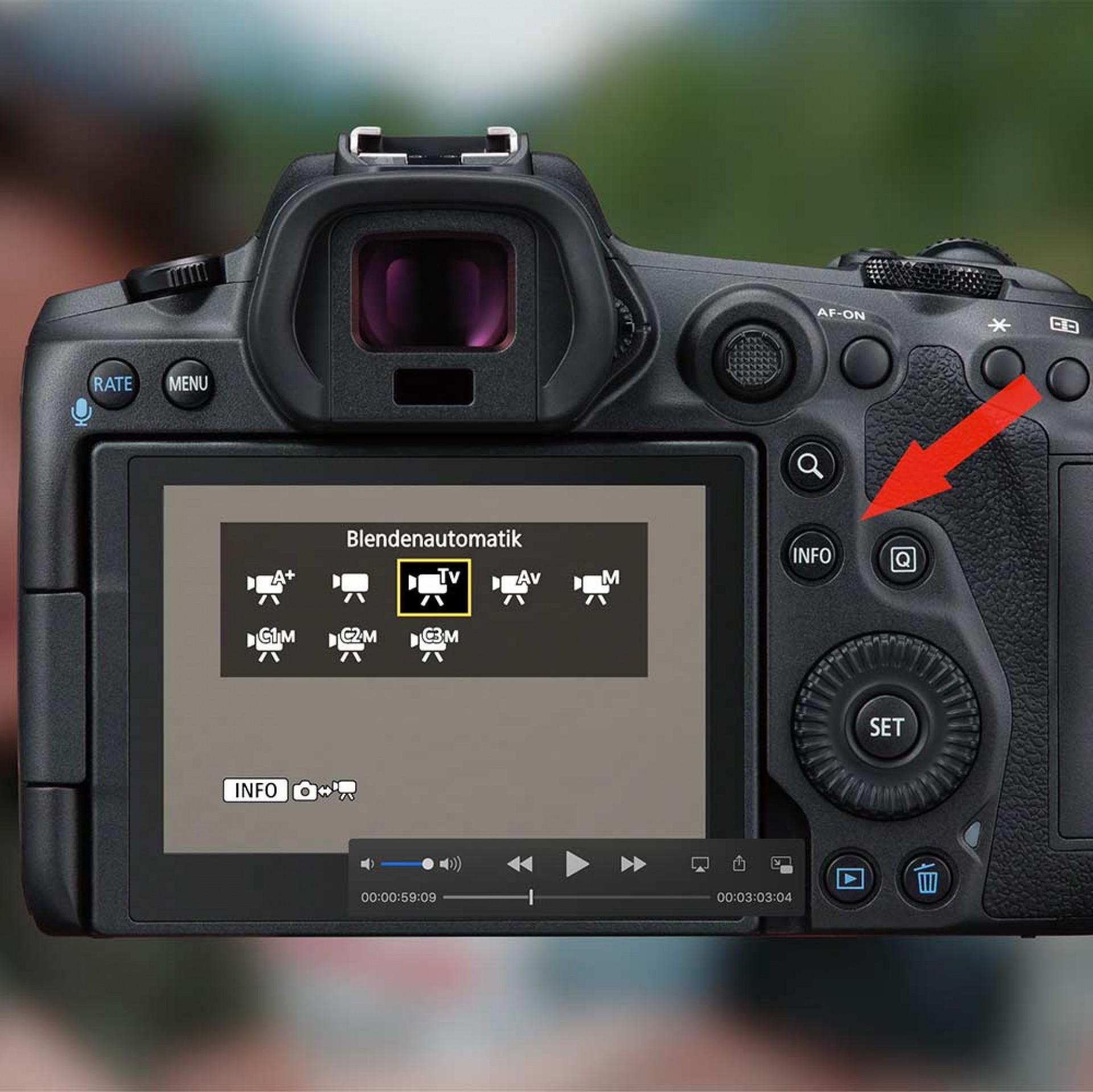Framegrabbing, Einzelbilder aus Videos, EOS R5, EOS R6
