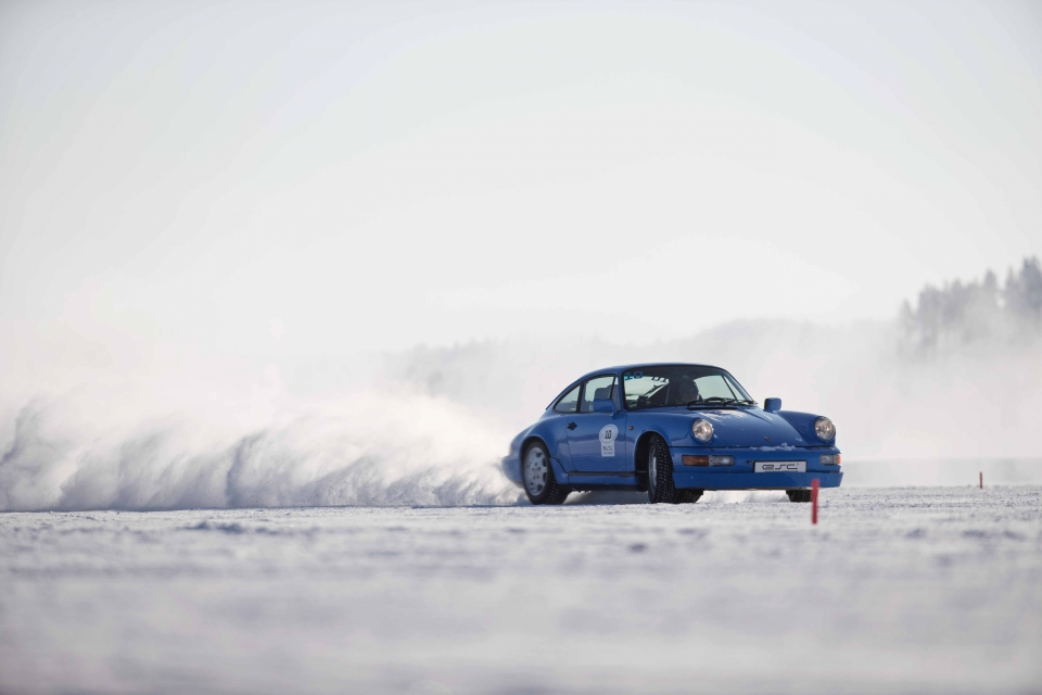 Richard Walch, Winter, Action, Lappland, Porsche, Fotografie