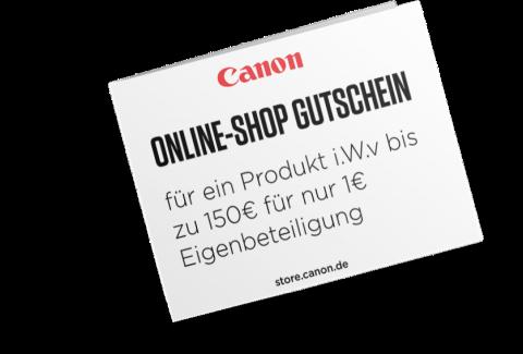 Wettbewerb Gewinn - Canon Academy