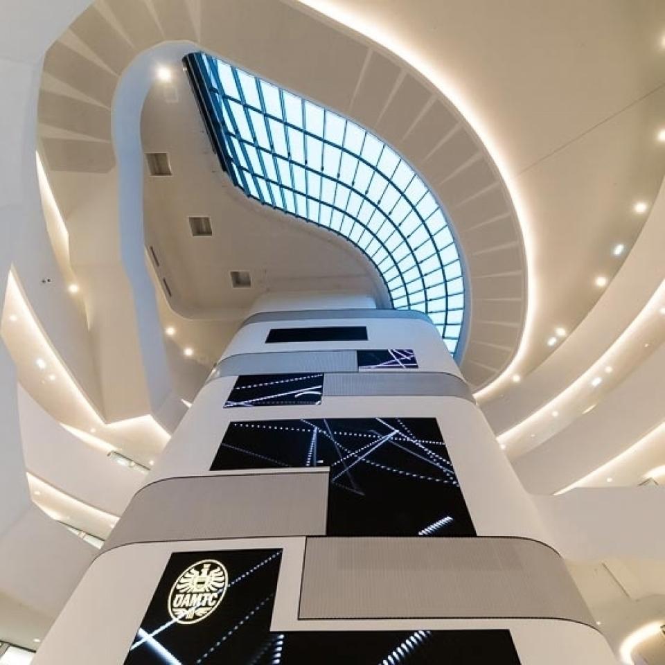 !COPY! Architekturfotografie in der ÖAMTC  Zentrale !COPY! - Canon Academy Architektur